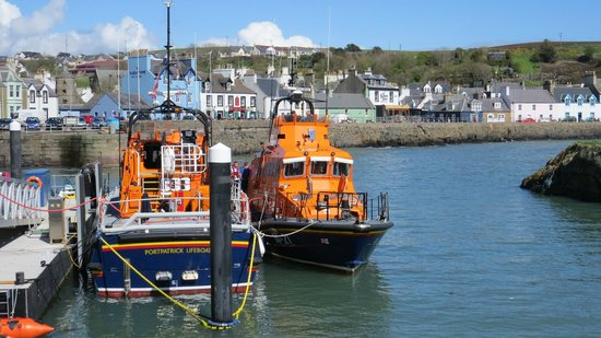 Portpatrick, UK: Life boats