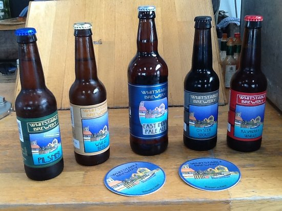 Whitstable Brewery Bar: Whitstable brewery Beers