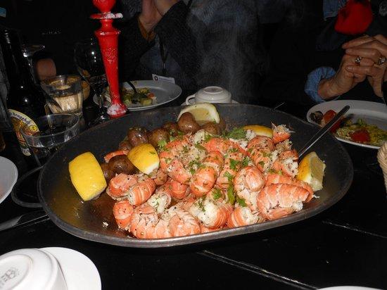 Fjorubordid: Delicious Lobster Dinner