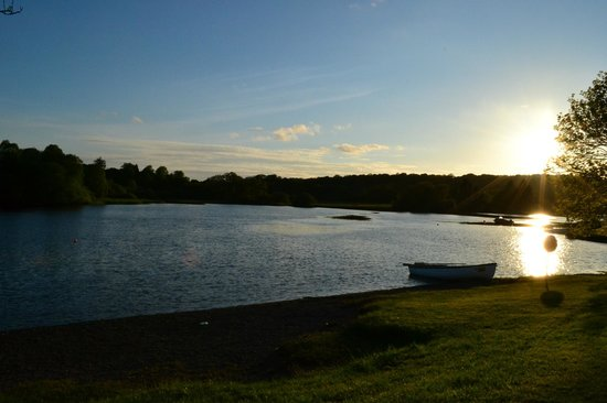 Loch Ken Holiday Park: view over the boating loch