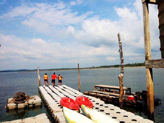 Kawal Kelong: You can try kayaking