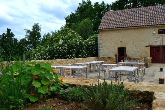 La Savie : Terrasse