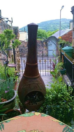 The Old Sunday School: view from the garden