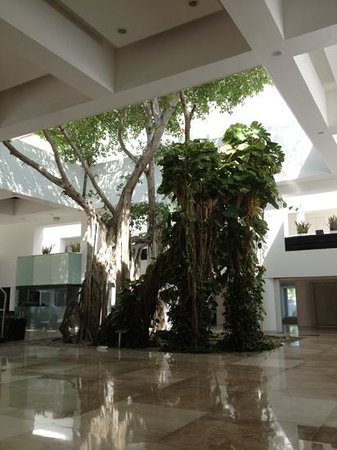 Playacar Palace: the lobby