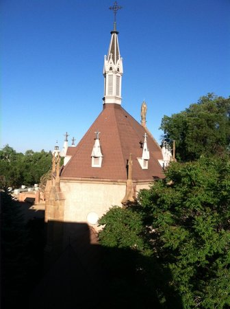 Inn and Spa at Loretto: View From Balcony of Room #421