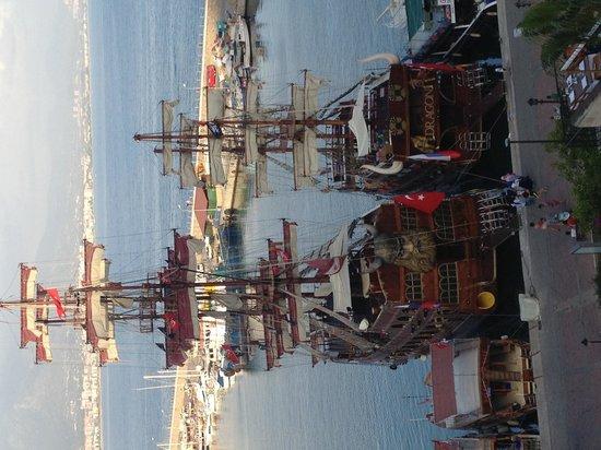 smartline Kaptan: Boten in de haven van Alanya