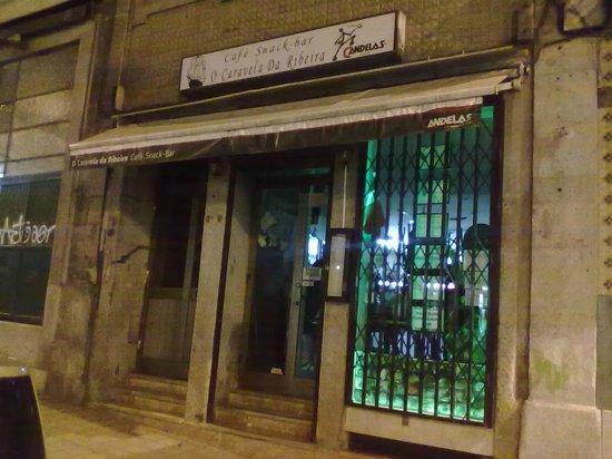 Restaurante Caravela da Ribeira: RUA .MOUZINHO DA SILVEIRA Nº124