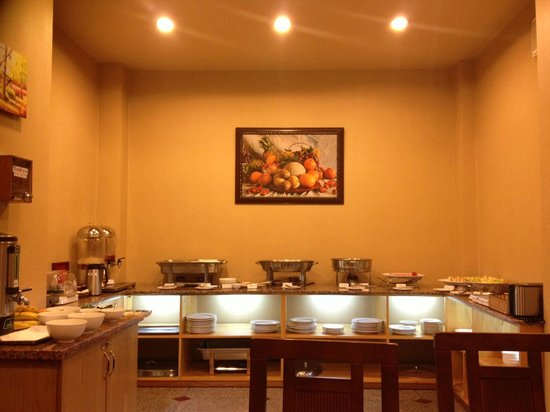 Thien Thao Hotel Ho Chi Minh City : breakfast buffet