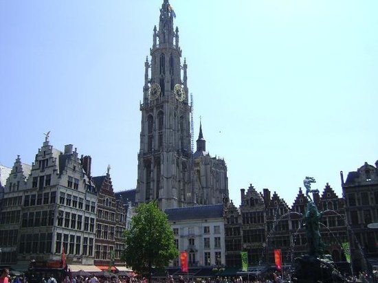 Catedral de Nuestra Señora (Onze Lieve Vrouwekathedraal): Cathedral of Our Lady, Amberes, Bélgica.