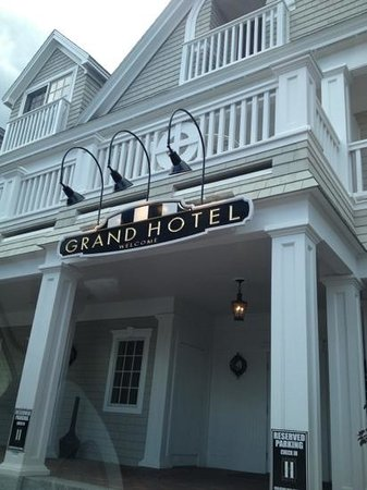 The Grand Hotel: Beautiful exterior