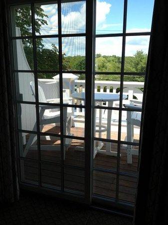 The Grand Hotel : our private porch