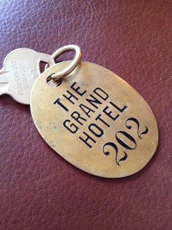 The Grand Hotel : adorable keys