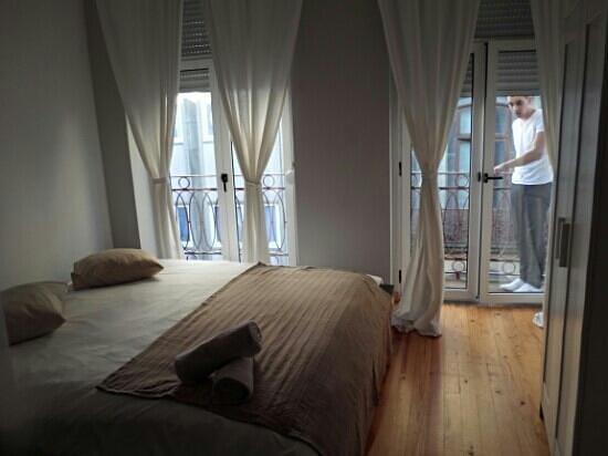 Aparthotel OPorto : coin chambre