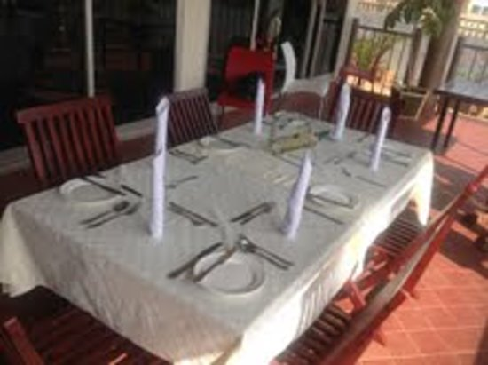 Nexus Resorts Hotel: Dinner at the terrace