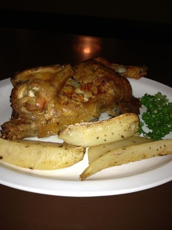 Bristol House of Pizza: Roasted Chicken with Potatoes