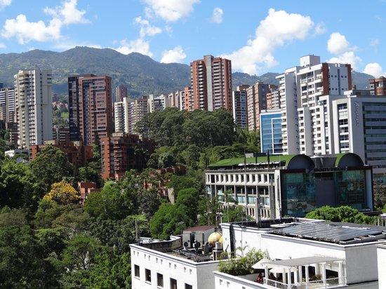 Novelty Suites Hotel: Vista desde la Habitación