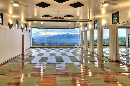 Pura Vida Retreat & Spa: Lila Yoga Hall