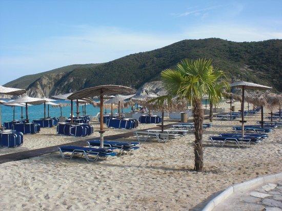 Sarti, Hellas: gratis solsängar