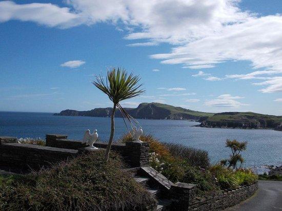 Sandycove House Bed & Breakfast: Blick in die Bucht
