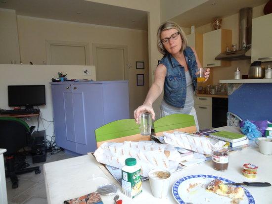 BluNotte: Geen ontbijt van de B&B en ook niet echt gezellig