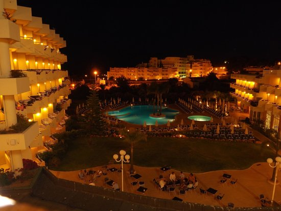 Vila Gale Nautico: View from our room at night