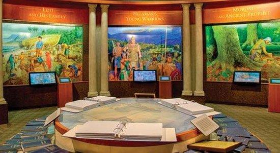 Hill Cumorah Visitors Center Book Of Mormon Stories