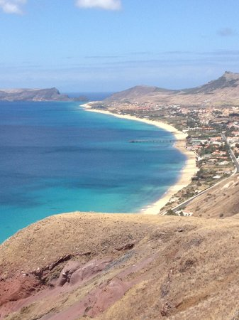 Pestana Porto Santo All Inclusive: view from the top of the port