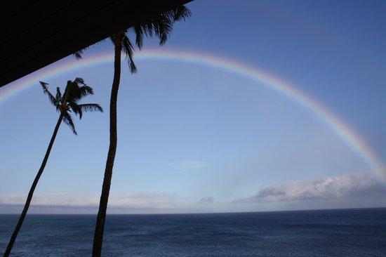 Nohonani Condos : Rainbows almost daily