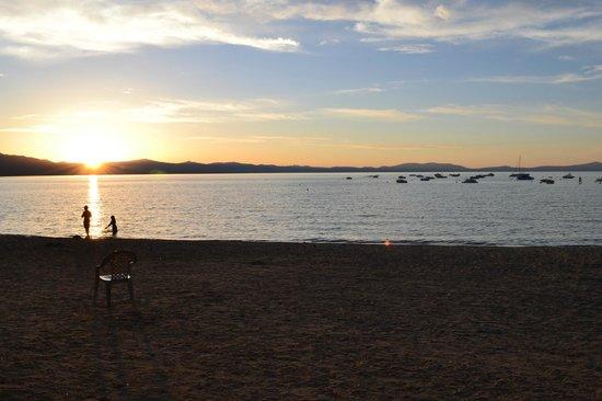 Beach Retreat & Lodge at Tahoe: Looking West