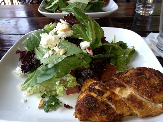 Bayou: The beet salad with chicken
