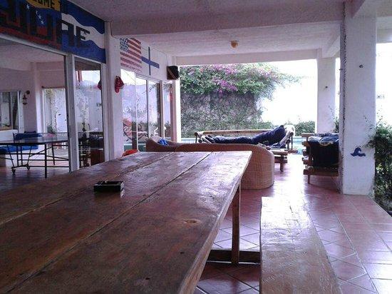 Yajure Surf Hostel : frente