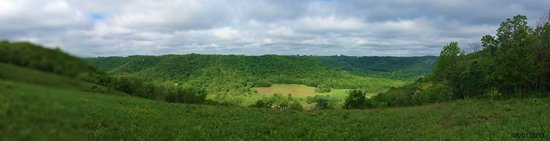 Great River Bluffs State Park : King's Bluff Overlook