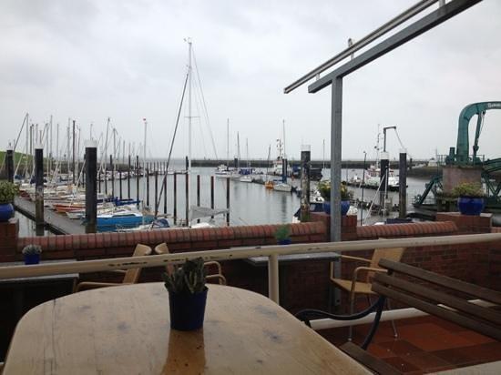 Seglerheim: nice view over the yacht basin
