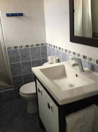 Hotel Briand : salle de bain