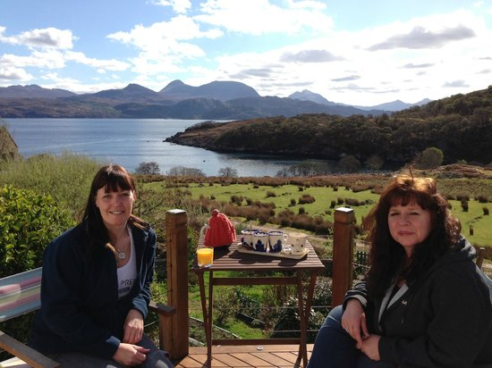 Colonsay B&B: we could sit here all day!!! :)