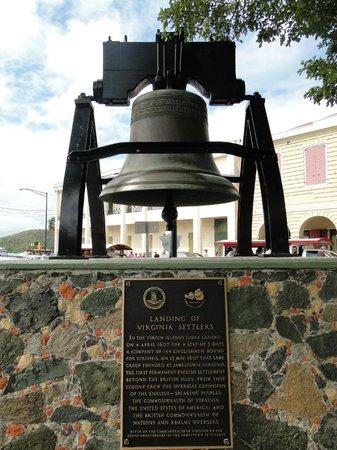 Emancipation Garden : All US Territories has a replica - the Liberty Bell