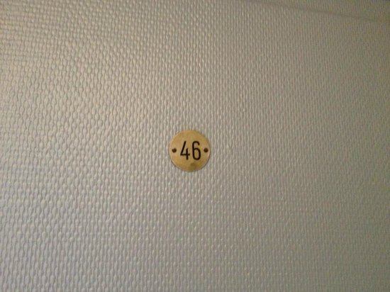 Hotel Le Coq Hardi : Room Number
