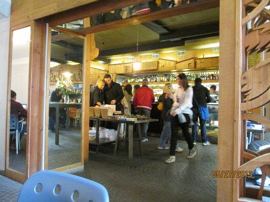 Chef Express: restaurant entrance