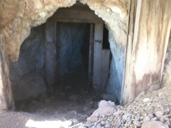 Kingston, NM: old mine adit