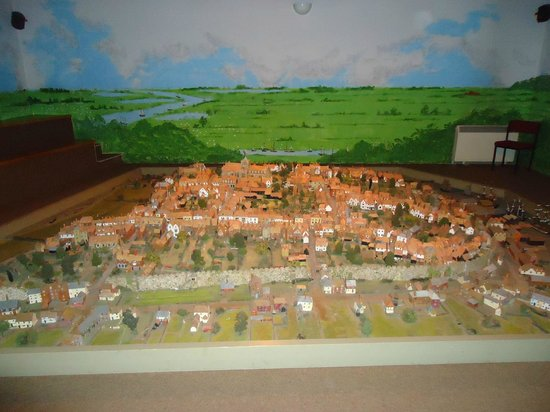 Rye Heritage Centre: The photo does the model no justice!