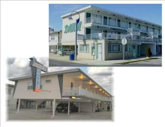Sunset Beach Hotel: Dawn & Nova Motels