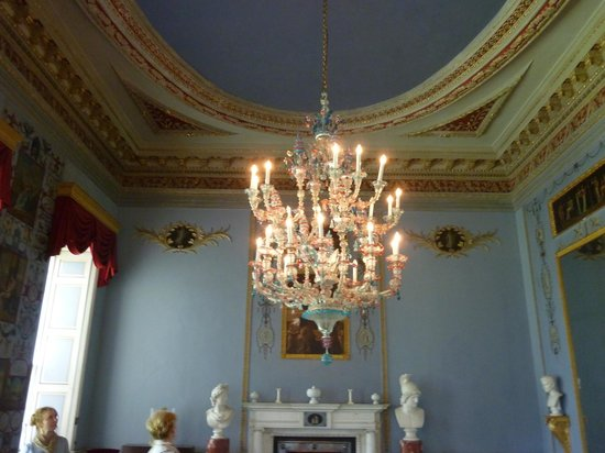 Castletown House: chandelier