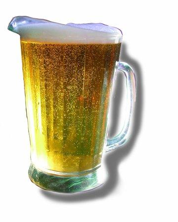 Lardo's Grill & Saloon : Ice Cold Beer