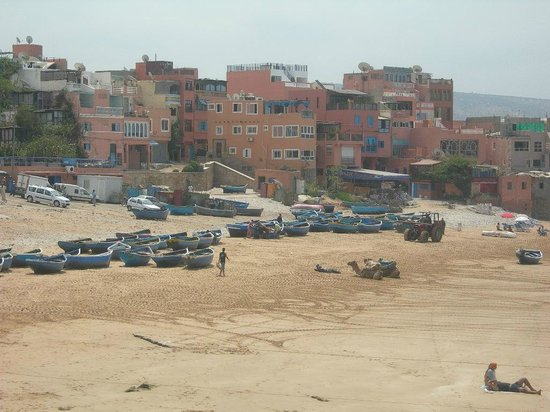 Argana bay social club : vue panoramique