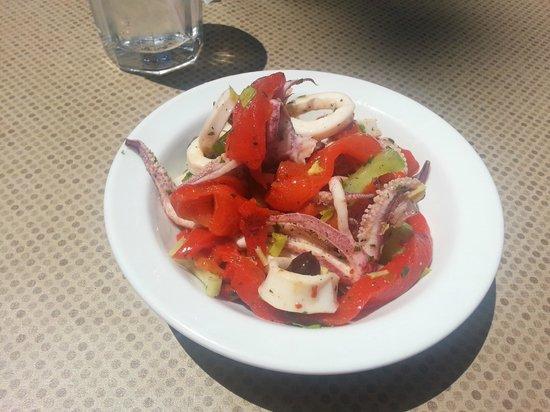 Calamari Salad - Cafe Citti