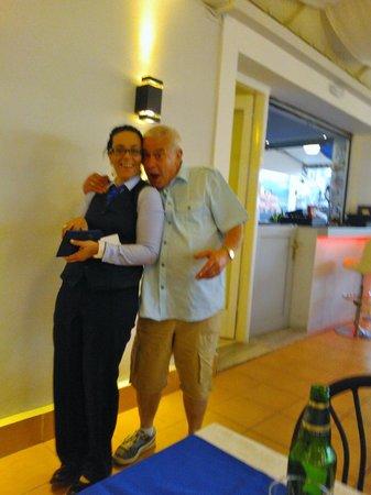 Micri Acropoli Restaurant & Bar : Pavlos (Paul) with Sonya x