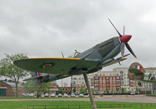 The Royal Air Force Museum London : Spitfire