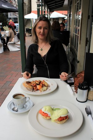 Arrowtown Bakery & Cafe: Breakfast at Arrowtown Bakery Cafe