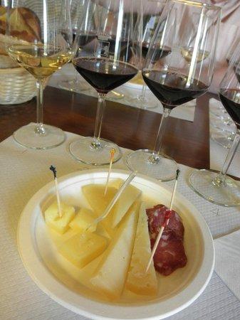 Azienda Agricola Leda' d'Ittiri: Tasting