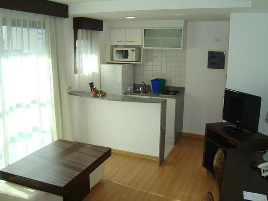 Mercure Rio de Janeiro Arpoador Hotel: Kitchen